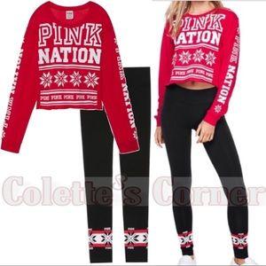 VS Pink Nation Winter ❄️ Lounge Bundle